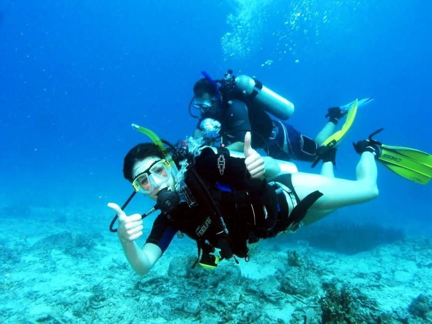 Dominoes Hotel Apartments Ipsos , activities - things to do in Corfu , Scuba diving in Corfu