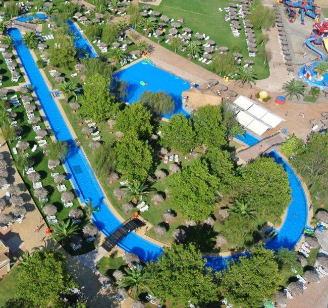 Dominoes Hotel Apartments Ipsos , activities - things to do in Corfu , must do in corfu Aqualand waterpark