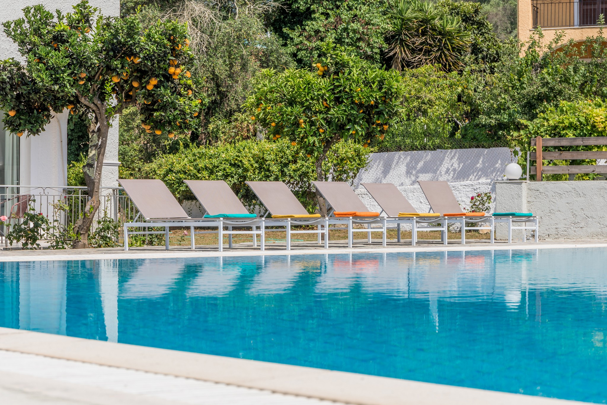 family self catering apartments in ipsos corfu