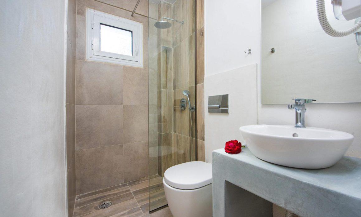 Dominoes corfu hotel superior rooms bathroom