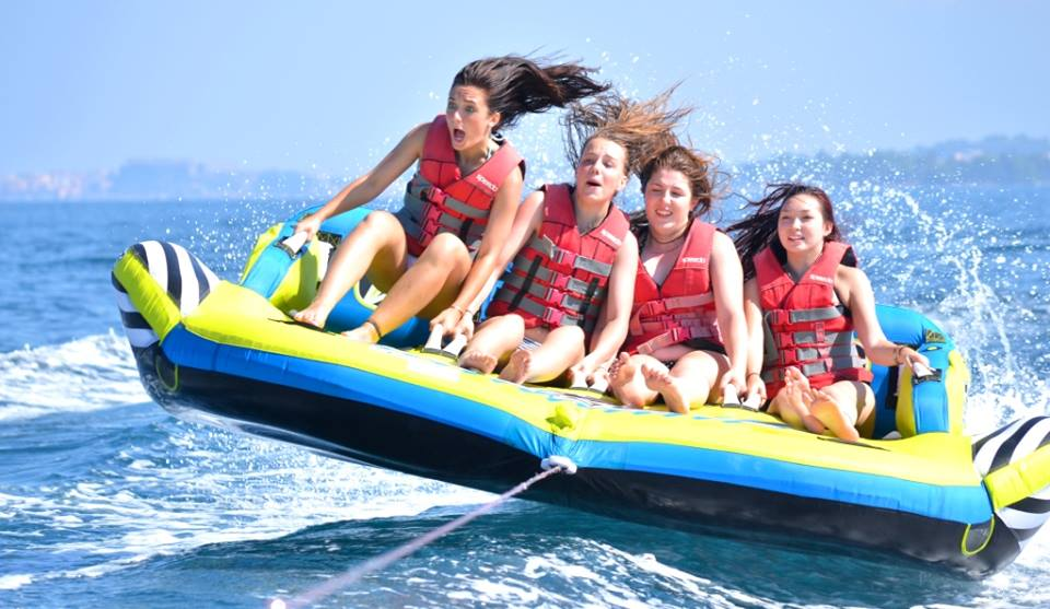 Dominoes Hotel Apartments Ipsos , activities - things to do in Corfu , watersports in dassia Corfu
